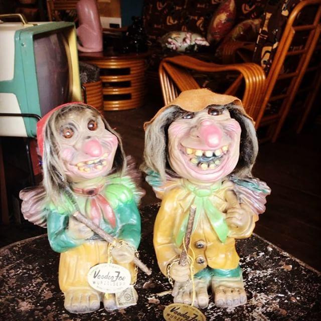おはようございます私たちは西ドイツからやって来た妖精 トロールですこんなビジュアルですが......誰も呪いませんから安心して下さい.........たぶん......... filamentに住んでますからみなさん来て下さい️️️️️️来てくれないと...............#filament#vintageshop #vintage #madeinwestgermany  #十勝のビンテージ雑貨屋 #voodoojoe #ブードゥージョー#トロール人形#ビンテージトイ #ビンテージ雑貨 #trolls #trolldolls